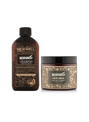 New Well New Well 23099968 Antı Hair Loss şampuan 400 ml+ Dökülme Önleyici Maske 500 ml Renksiz